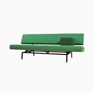 Divano BR03 Mid-Century modernista verde di Martin Visser per 't Spectrum, Paesi Bassi, anni '60