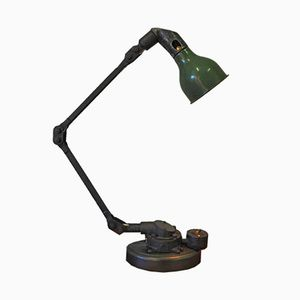 Vintage Industrial Angle-Poised Desk Lamp by Mek Elek