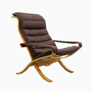 Vintage Scandinavian Flex Lounge Chair by Ingmar Relling for Westnofa, 1970s