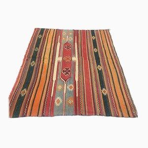 Vintage Turkish Woolen Kilim Rug
