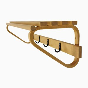 Birch Hat Shelf by Alvar Aalto for Artek, 1970s