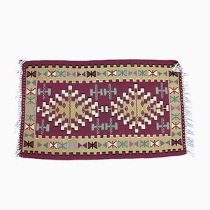 Small Traditional Turkish Kilim Rug, 1960s