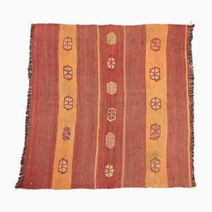 Small Vintage Turkish Kilim Rug