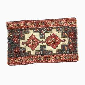 Kleiner türkischer Vintage Teppich, 1950er