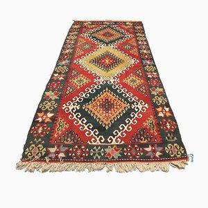Türkischer Vintage Teppich aus Wolle