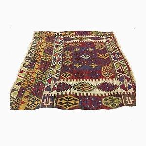 Tappeto Kilim vintage in lana, Turchia, anni '50