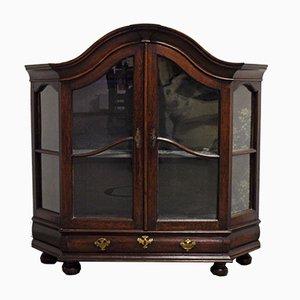 Antique Baroque Display Cabinet, 1760s