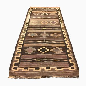 Large Vintage Turkish Kilim Rug, 1950s