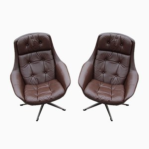 Mid-Century Danish Lounge Chairs from Bramin, 1960s, Set of 2