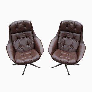 Mid-Century Danish Lounge Chairs from Bramin, 1960s, Set of 2