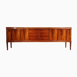 Mid-Century Danish Rosewood Sideboard by H.W. Klein for Bramin, 1950s