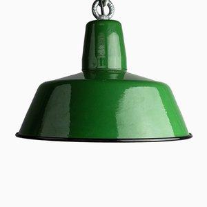 Industrial Model OBS-3 Enamel Lamp from Zaos, 1966