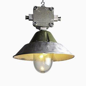 Lampada OWP125 industriale di Polam Wilkasy, 1972