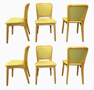 Vintage Dining Chairs by Nils Koefoed, 1970s, Set of 6
