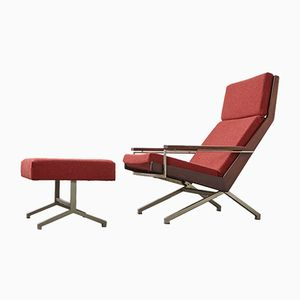 Lotus Lounge Chair & Ottoman by Rob Parry for De Ster Gelderland, 1960s