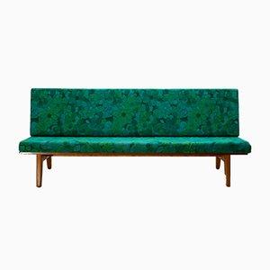Schwedisches Sofa aus Teak und Buche von Gustaf Hiort af Ornäs für Gösta Westerberg, 1950er