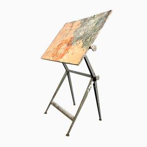 Mesa de dibujo vintage de Kramer & Wim Rietveld para Ahrend de Cirkel, años 50