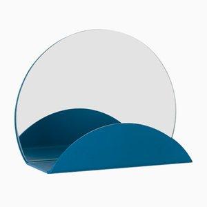 Specchio Costellation blu con attaccapanni di Anna Mercurio per Formae