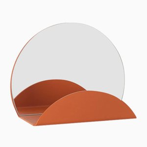 Orange Costellation Mirror & Coat Hook by Anna Mercurio for Formae