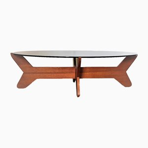 Scandinavian Coffee Table by Hugues Poignant for Dad, 1969