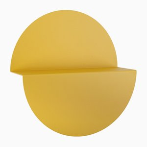 Yellow Half Moon Shelf by Anna Mercurio for Formae