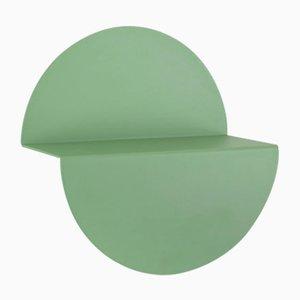 Kleines hellgrünes Halbmondregal von Anna Mercurio für Formae