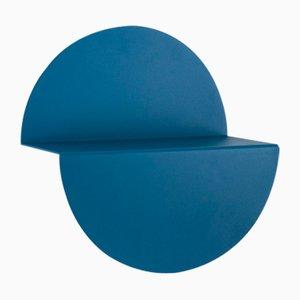 Estantería Half Moon pequeña en azul de Anna Mercurio para Formae