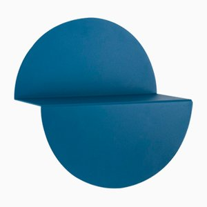 Mensola Half Moon blu di Anna Mercurio per Formae