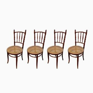 Antique Chairs by Michael Thonet for Thonet, Set of 4