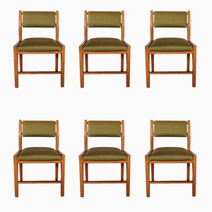 Italian Mid-Century Chairs by Vittorio Dassi, 1960s, Set of 6