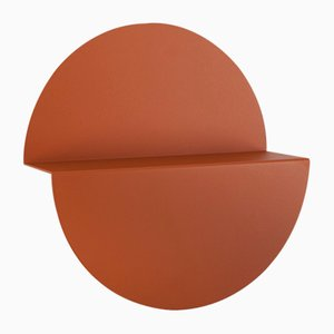 Large Orange Half Moon Shelf by Anna Mercurio for Formae