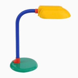 Lampe de Bureau Vintage Colorée, 1980s