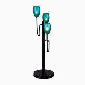 Lámpara de mesa holandesa de Hala, años 80