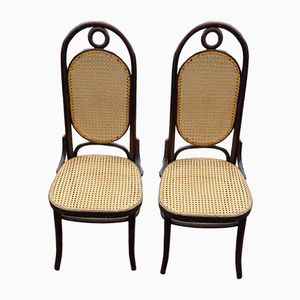 Antique Model Number 17 Dining Chairs from Thonet, Set of 2