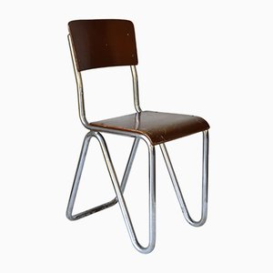 Bauhaus Style Side Chair, 1930s