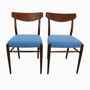 Danish Teak Model 59 Dining Chairs by Harry Østergaard for Randers Møbelfabrik, 1960s, Set of 2