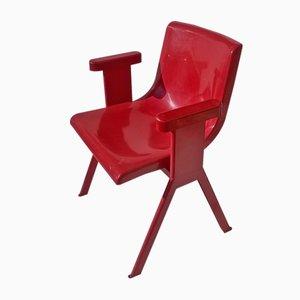 Vintage Stuhl von Ettore Sottsass für Olivetti Synthesis, 1971