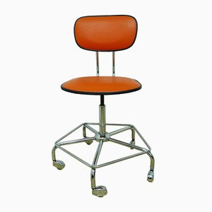 Vintage Modernist Swivel Chair, 1970s