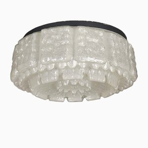 Vintage Glass Ceiling Lamp from Limburg