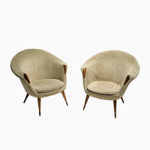 Vintage Cocktail Chairs, 1960, Set of 2