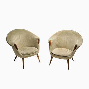 Vintage Cocktailstühle, 1960, 2er Set