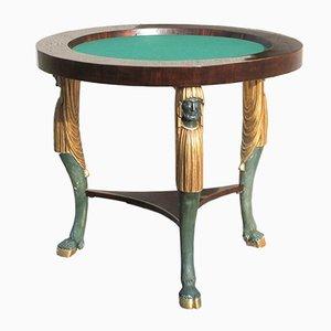 Antique Empire Console Table