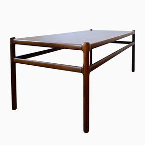 Danish Rosewood Coffee Table by Johannes Andersen for Silkeborg Møbelfabrik, 1960s