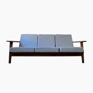 Model GE290 3-Seater Sofa by Hans J. Wegner for Getama, 1950s