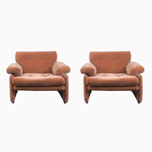 Lounge Chairs by Tobia & Afra Scarpa for B&B Italia, 1970s, Set of 2