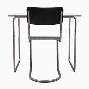 Juego de mesa y silla Cantilever de Mart Stam & Marcel Breuer para Thonet, años 30
