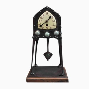 Antike deutsche Uhr von Albin Muller