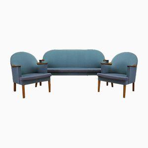 Dänisches Vintage Sofa & 2 Sessel