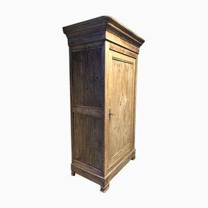 Antiker Schrank aus Eiche mit einer Tür