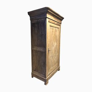 Antique Oak Cupboard with One Door